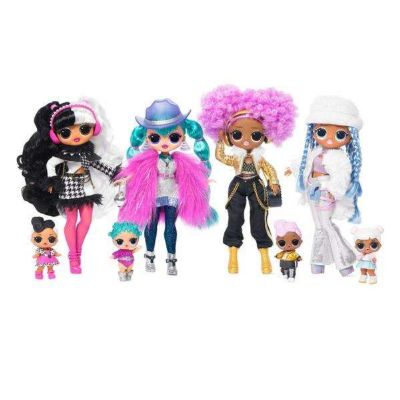 MUÑECA LOL SURPRISE TOP SECRET DOLLS EDICION INVIERNO