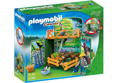 COFRE BOSQUE DE PLAYMOBIL 6158