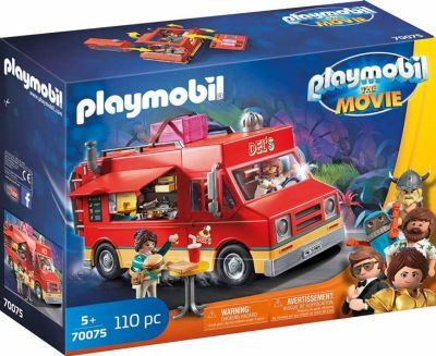 PLAYMOBIL THE MOVIE FOOD TRUCK DEL 70075