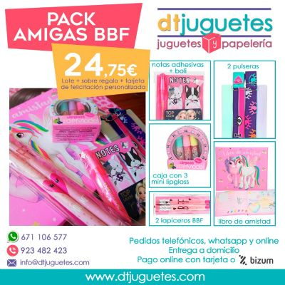 Pack Amigas BFF