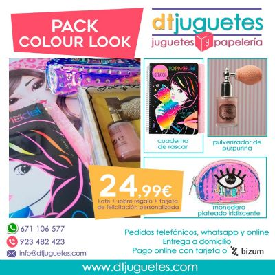 Pack Colour Look