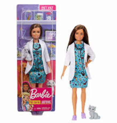 MUÑECA BARBIE VETERINARIA