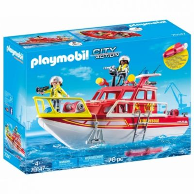 Barco rescate playmobil city action - 70147 33-70147
