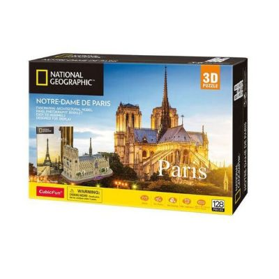 PUZZLE 3D NOTRE DAME(NATIONAL GEOGRAPHIC)