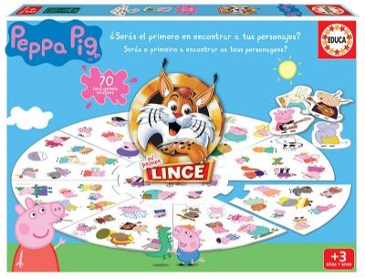 LINCE PEPPA PIG Ref. 18509