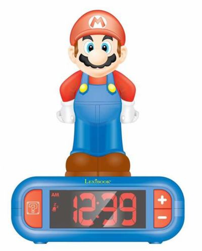 Despertador digital Super Mario con Radio. REF: 119-800RLNI