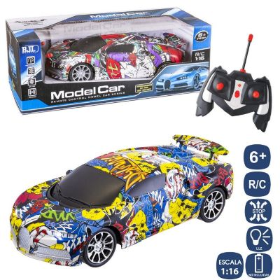 R/C COCHE 7 F GRAFITTY ref:130288