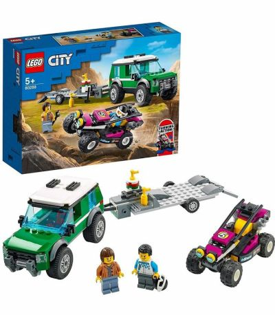 Lego  City Great Vehicles Furgoneta de Transporte del Buggy de Carreras 124-60288